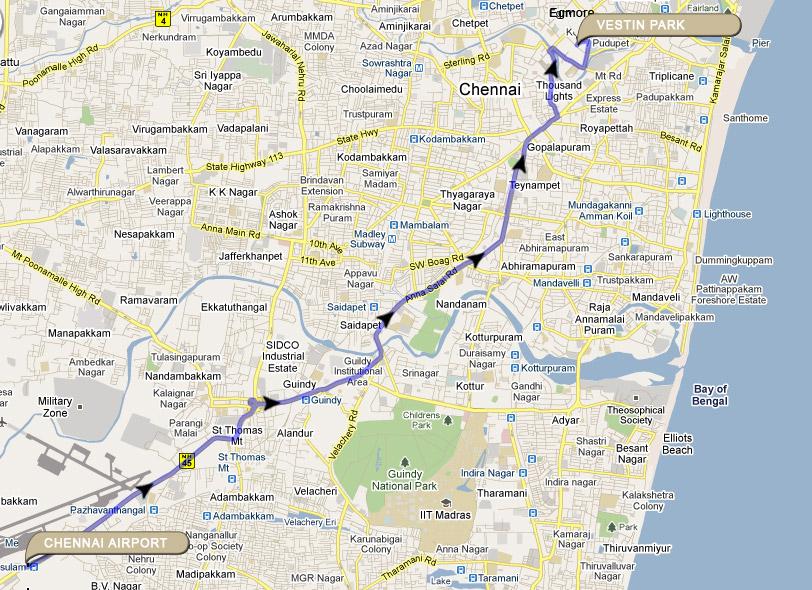 Vestin Park Chennai,AN ISO Certified Hotel, Chennai Hotels, Chennai ...